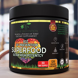 1OZ OF PREVENTION SUPERFOOD DIETARY SUPPLEMENT
