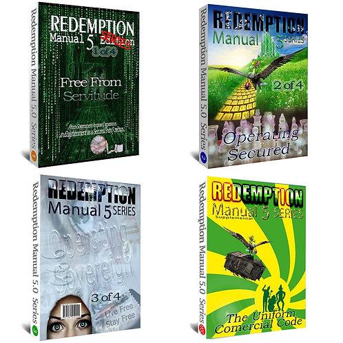 Redemption Manual Book 1, 2, 3 & UCC Supplemental BUNDLE