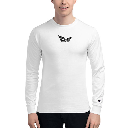 Moziah Black Owl Cntr Men's Champion Long Sleeve Shirt