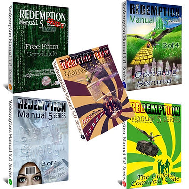 Redemption Manual Book 1, 2, 3, UCC & America's Foundation Supplementals BUNDLE