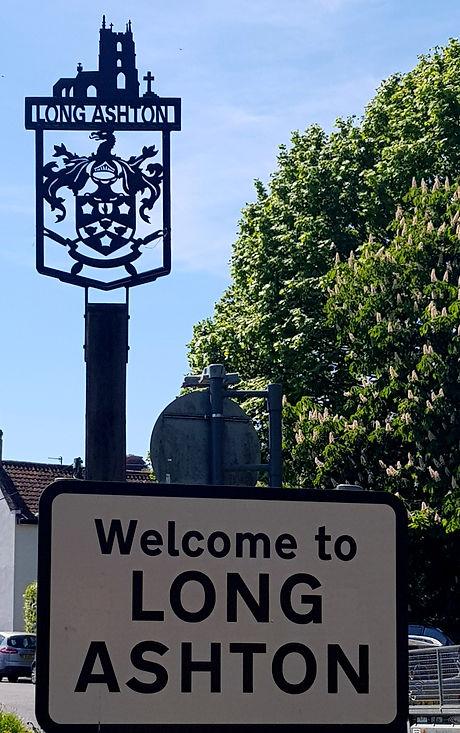 Long Ashton road sign