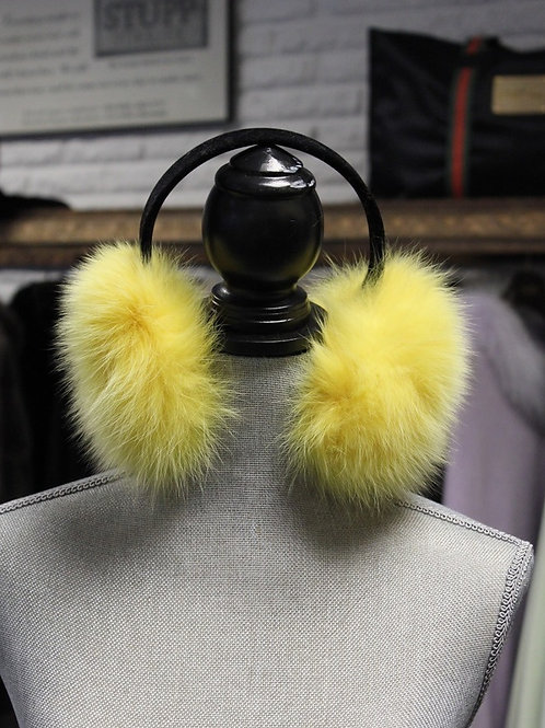 Yellow Fox Earmuffs