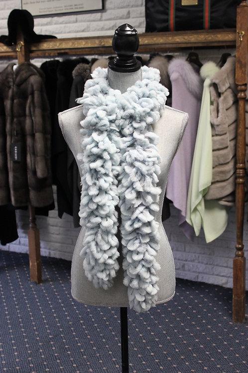Seafoam Lapin Knit Scarf