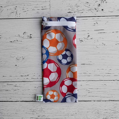 Utensil/Toothbrush Bag - Soccer (Small)
