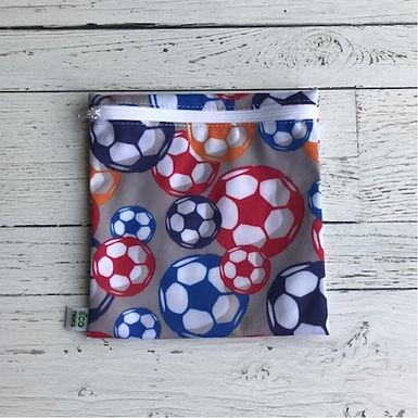 Reusable Sandwich Bag - Soccer