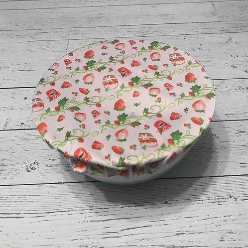 Bowl Cover - Strawberries (Medium)