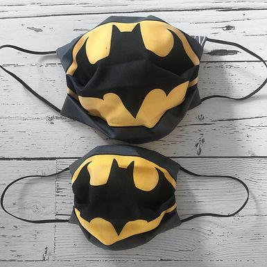 Duo of Reusable Masks - Batman (Adult & Children)