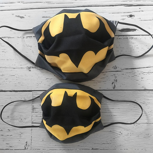 Duo of Reusable Masks - Batman (Adult & Children)
