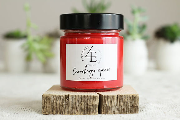 Scented Candle - Spicy Cranberries