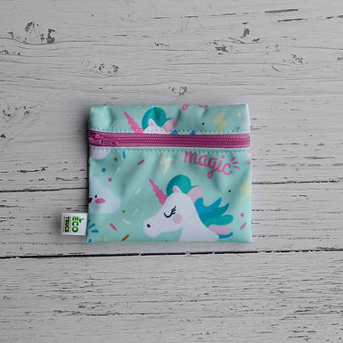 Reusable Mini Snack Bag - Magic Unicorn