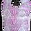 Thumbnail: Bib Cotton & Terrycloth - Flowers & Purple Leaves