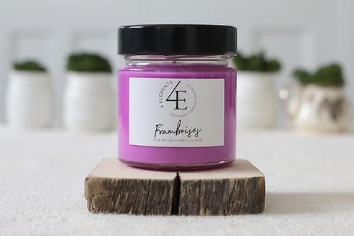 Scented Candle - Raspberries