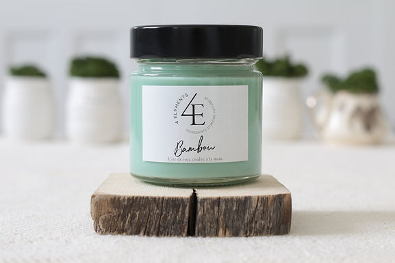 Scented Candle - Bamboo