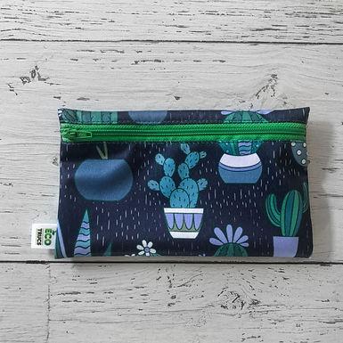 Reusable Snack Bag - Cactus