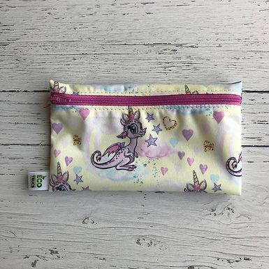 Reusable Snack Bag - Unicorn Dragon