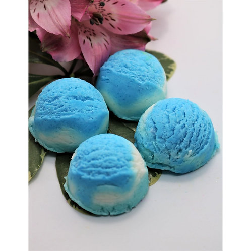 Solid Bubble Bath - Blue Raspberry (Pack of 4)