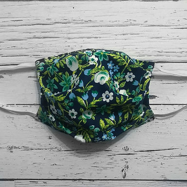 Reusable Face Mask - Wild Flowers (Adult)