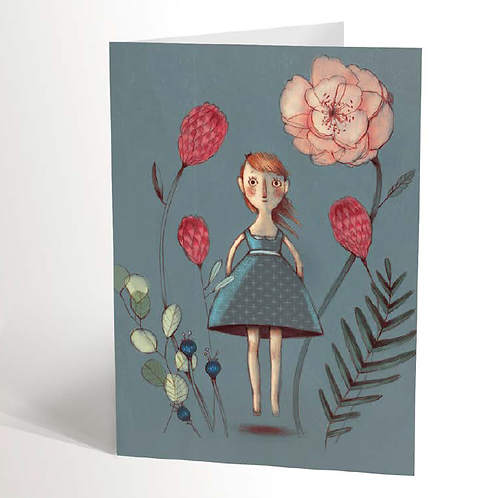 Alice's Garden Card