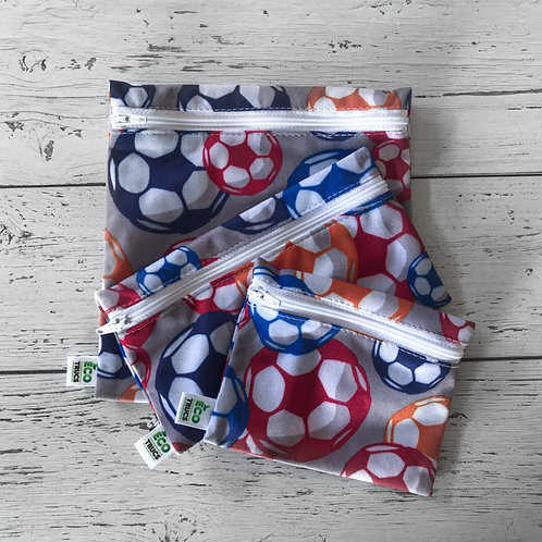 Lunch Bag Trio - Soccer