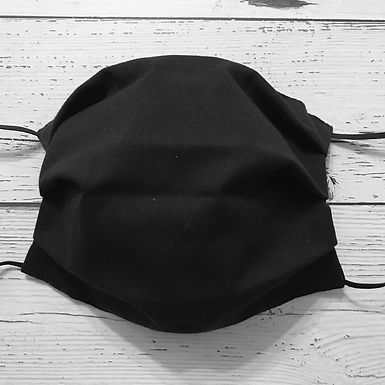 Reusable Face Mask - Black (Children)