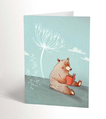 Reading Bear Card