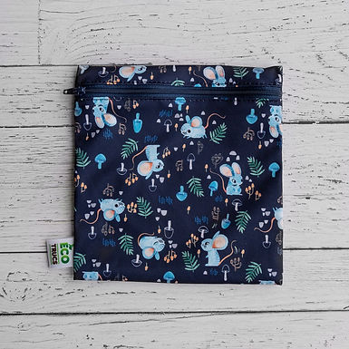 Reusable Sandwich Bag - Mice (Recycled Water Bottles)