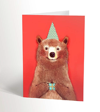 Red Bear Card