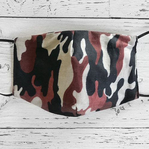 Reusable Face Mask - Army (Adult)