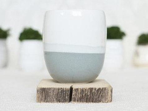 Ceramic Candle - Citrus (Wood Wick)