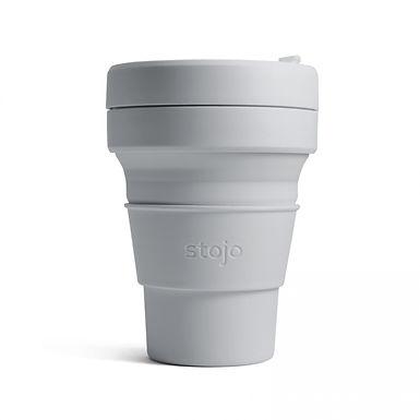 Foldable Pocket Mug 355 mL - Light Grey