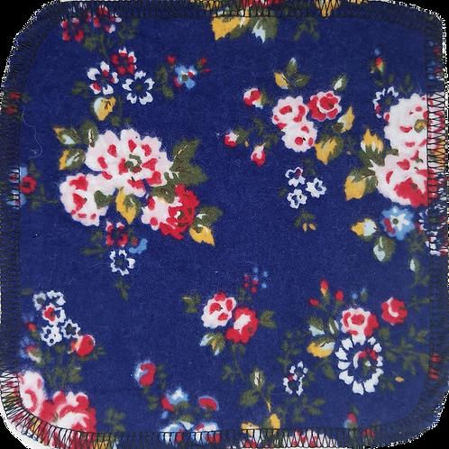 Washcloths, Tissues & Wipes - Red Flowers Marine Background