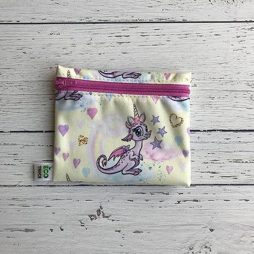 Reusable Mini Snack Bag - Unicorn Dragon