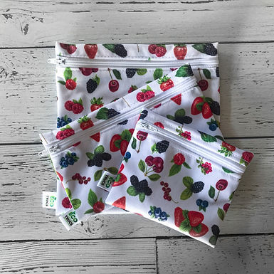 Lunch Bag Trio - Wild Berries