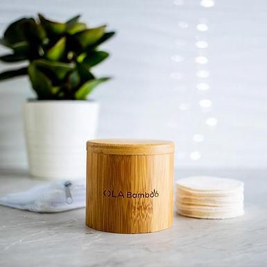 Bamboo Make-up Remover Pads Box Set