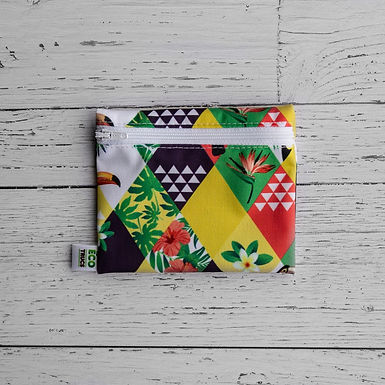 Reusable Mini Snack Bag - Toucan