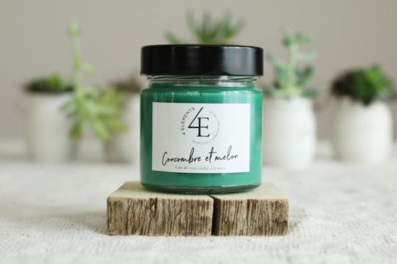 Scented Candle - Cucumber & Melon