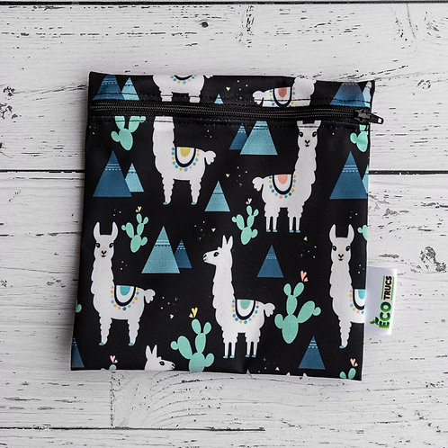Reusable Sandwich Bag - Llama