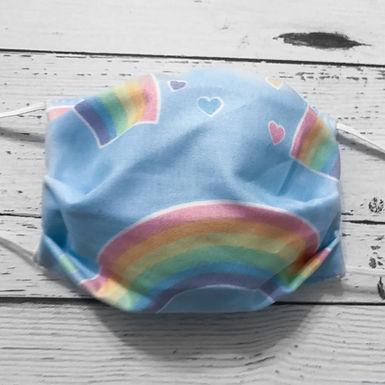 Reusable Face Mask - Rainbow (Children)