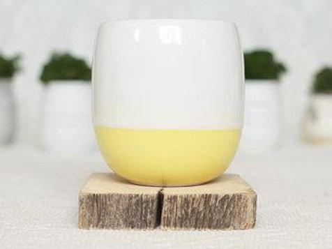 Ceramic Candle - Lemon (Wood Wick)