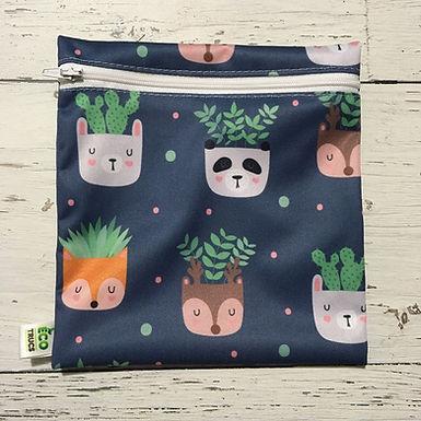 Reusable Sandwich Bag - Animal Heads