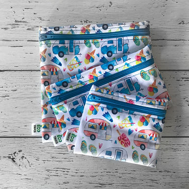 Lunch Bag Trio - Camping