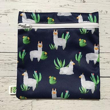 Reusable Sandwich Bag - Resting Llama