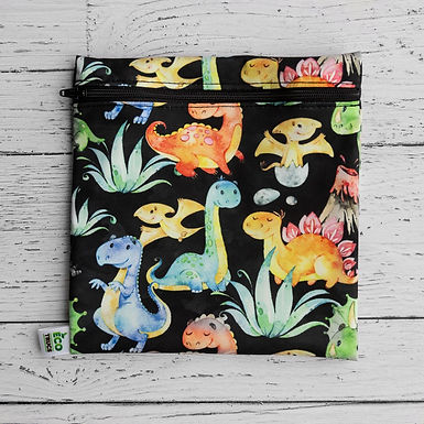 Reusable Sandwich Bag - Dinosaurs