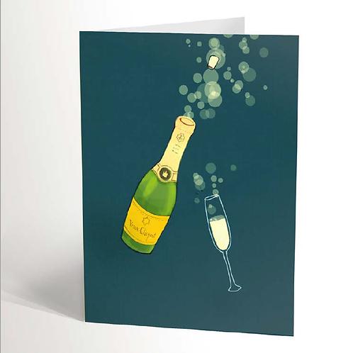 Veuve Clicquot Card