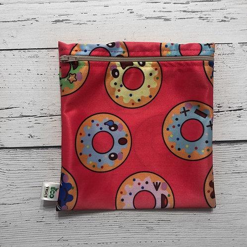 Reusable Sandwich Bag - Doughnuts in Craziness
