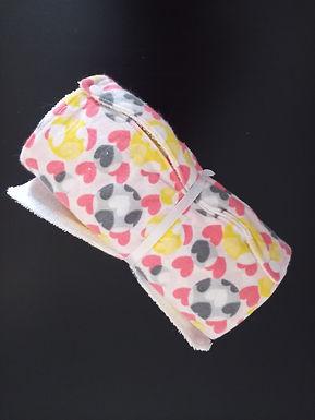"""""""Paper"""" Towel - Hearts"""
