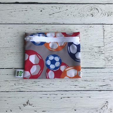 Reusable Mini Snack Bag - Soccer