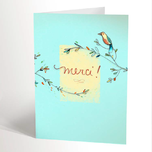 Thank You Card (French)