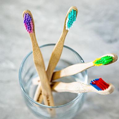 Bamboo Toothbrush - Children (Pack of 4)