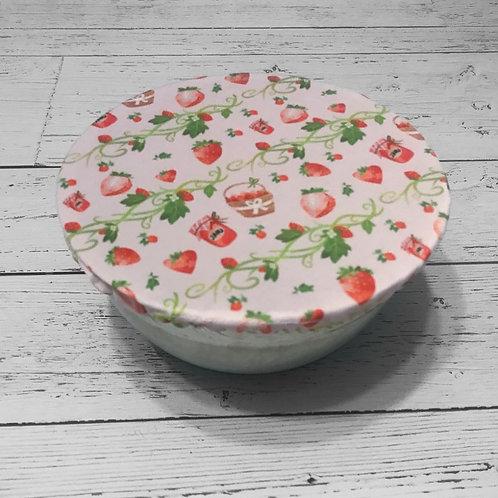 Bowl Cover - Strawberries (Big)